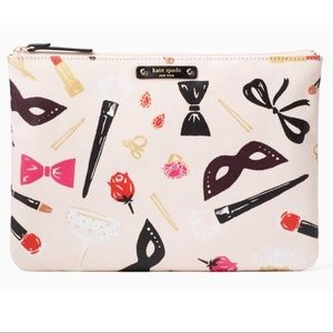 Kate Spade Gia Large Pouch Hop to It Steal Scene